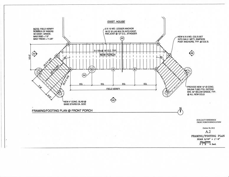 Guilliat Deck – Michael Leonard Architect